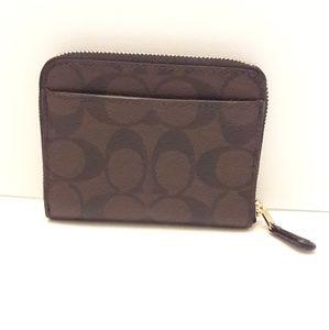 Coach Bags - 🎈🎈SALE 40%OFF🎈Coach black / brown wallet